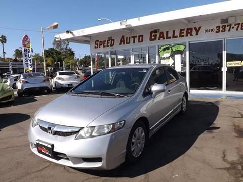 2011 Honda Civic for sale at Speed Auto Gallery in La Mesa CA