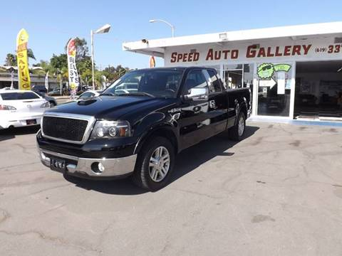 2007 Ford F-150 for sale at Speed Auto Gallery in La Mesa CA