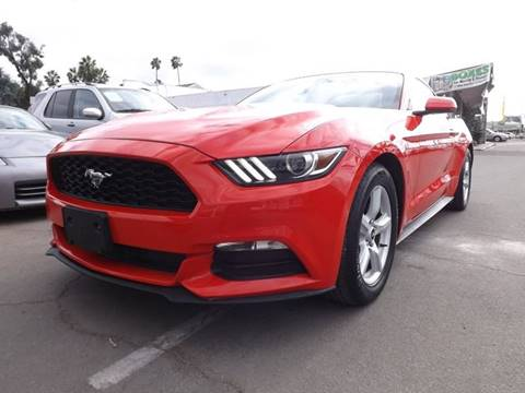 2015 Ford Mustang for sale at Speed Auto Gallery in La Mesa CA