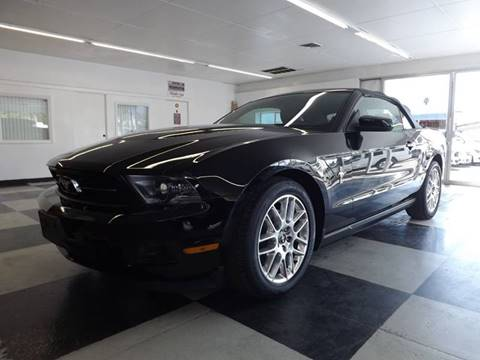 2012 Ford Mustang for sale at Speed Auto Gallery in La Mesa CA