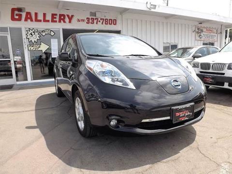 2012 Nissan LEAF for sale in La Mesa, CA