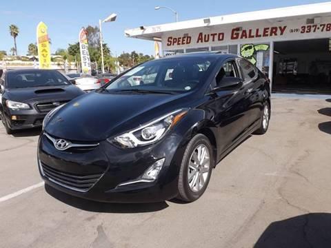 2015 Hyundai Elantra for sale in La Mesa, CA