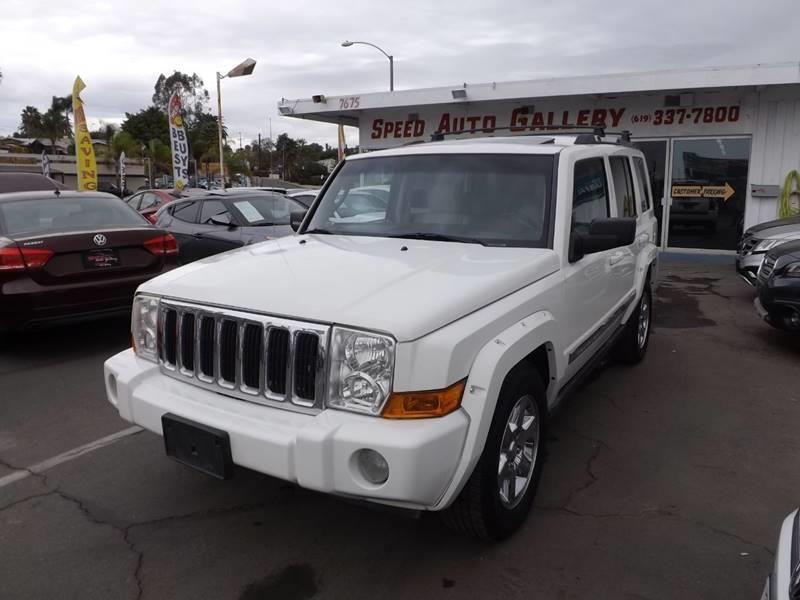 2007 Jeep Commander Limited In La Mesa CA - Sd Auto Gallery