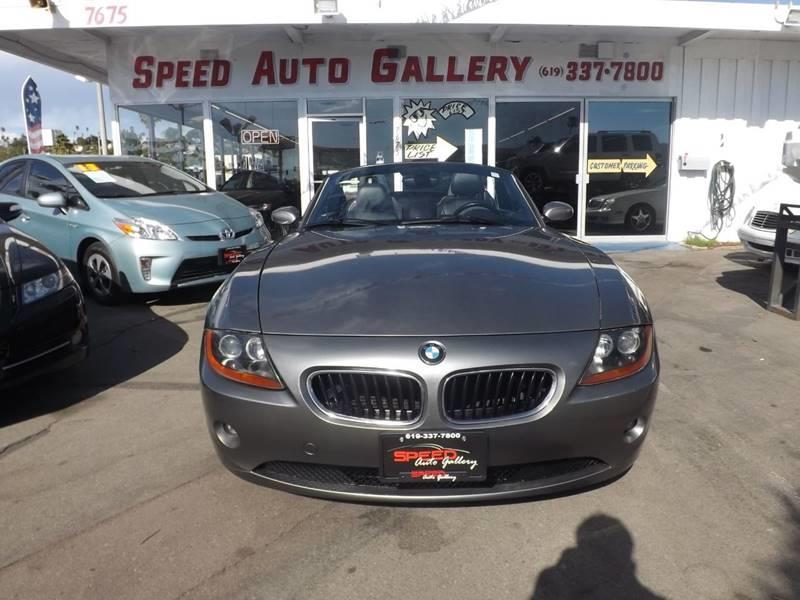 2003 Bmw Z4 25i In La Mesa Ca Speed Auto Gallery