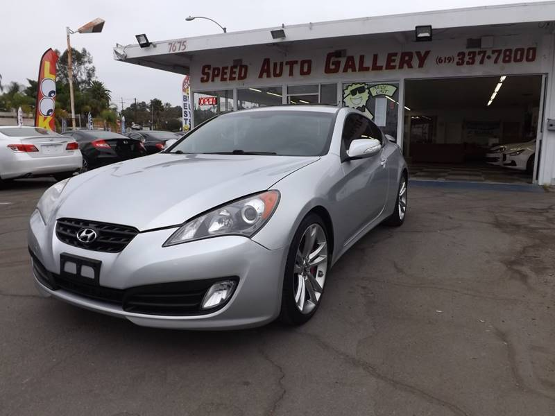 2011 Hyundai Genesis Coupe For Sale At Speed Auto Gallery In La Mesa CA