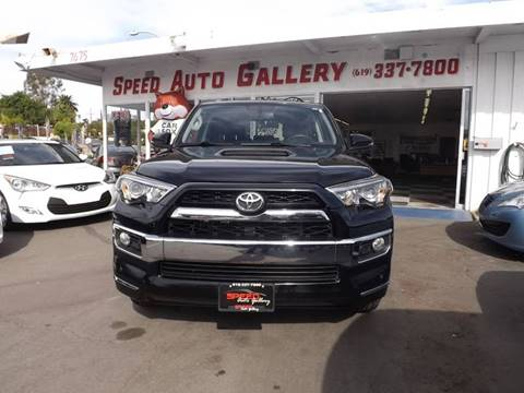 2015 Toyota 4Runner for sale at Speed Auto Gallery in La Mesa CA