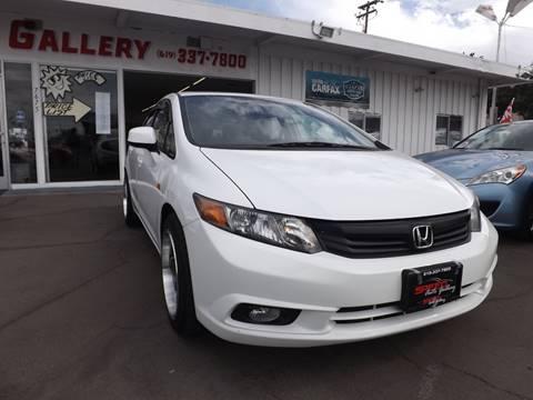 2012 Honda Civic for sale at Speed Auto Gallery in La Mesa CA