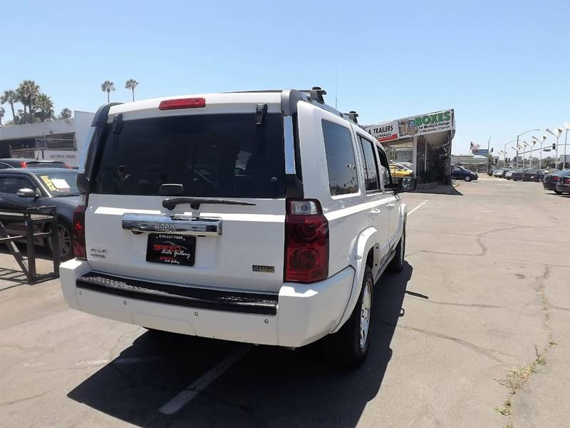 2007 Jeep Commander for sale at Speed Auto Gallery in La Mesa CA