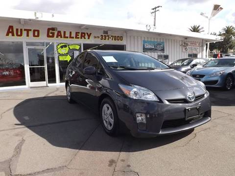 2011 Toyota Prius for sale at Speed Auto Gallery in La Mesa CA