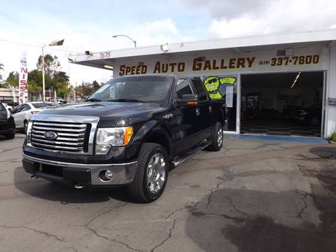 2010 Ford F-150 for sale at Speed Auto Gallery in La Mesa CA