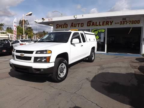 2010 Chevrolet Colorado for sale at Speed Auto Gallery in La Mesa CA