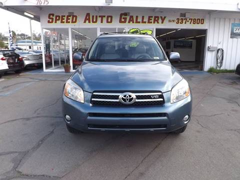 2007 Toyota RAV4 for sale at Speed Auto Gallery in La Mesa CA