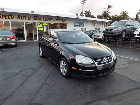 2008 Volkswagen Jetta for sale at Speed Auto Gallery in La Mesa CA