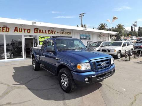 2010 Ford Ranger for sale at Speed Auto Gallery in La Mesa CA