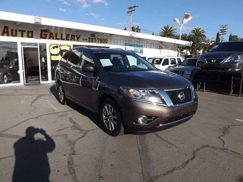 2015 Nissan Pathfinder for sale at Speed Auto Gallery in La Mesa CA