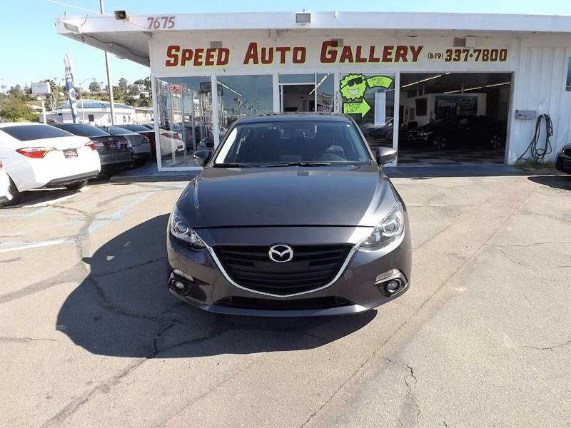 2015 Mazda MAZDA3 for sale at Speed Auto Gallery in La Mesa CA