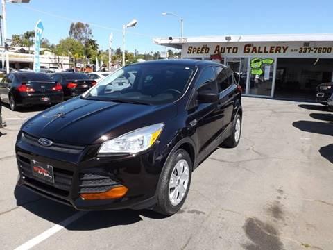 2013 Ford Escape for sale at Speed Auto Gallery in La Mesa CA
