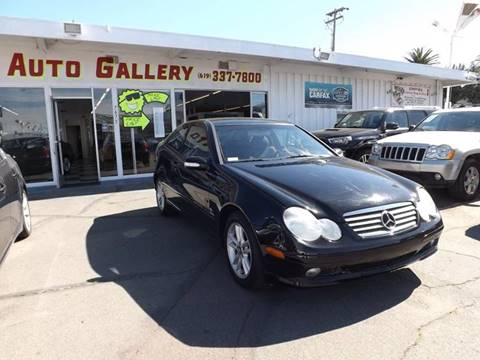 2002 Mercedes-Benz C-Class for sale at Speed Auto Gallery in La Mesa CA