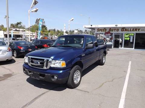 2011 Ford Ranger for sale at Speed Auto Gallery in La Mesa CA