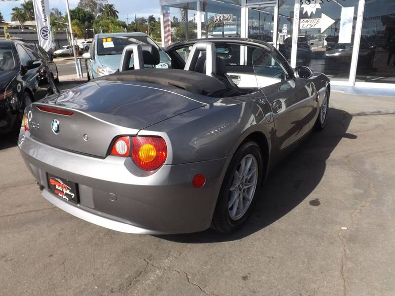 2003 BMW Z4 for sale at Speed Auto Gallery in La Mesa CA
