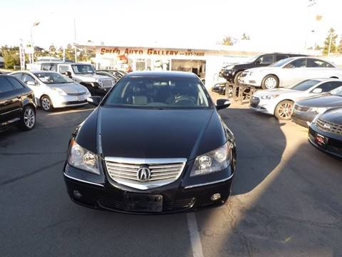 2006 Acura RL for sale at Speed Auto Gallery in La Mesa CA
