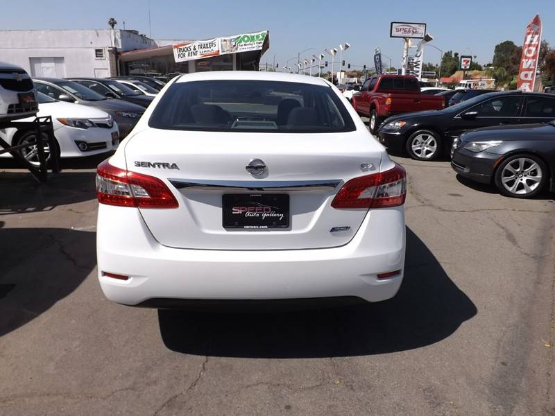 2014 Nissan Sentra for sale at Speed Auto Gallery in La Mesa CA