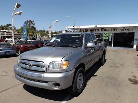 2003 Toyota Tundra for sale in La Mesa, CA