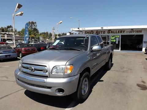 2003 Toyota Tundra for sale at Speed Auto Gallery in La Mesa CA