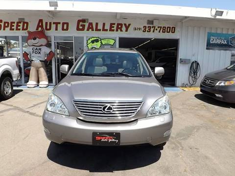 2005 Lexus RX 330 for sale at Speed Auto Gallery in La Mesa CA