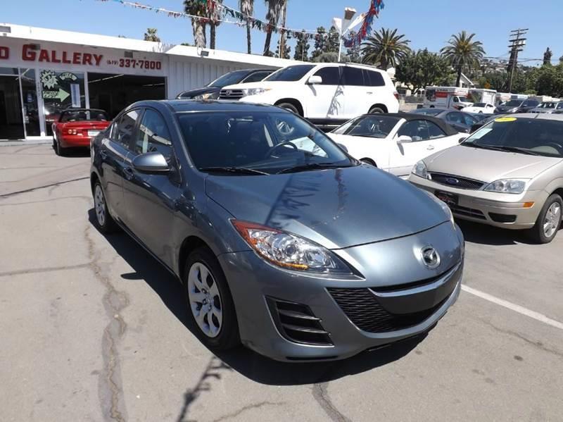 2012 Mazda MAZDA3 for sale at Speed Auto Gallery in La Mesa CA