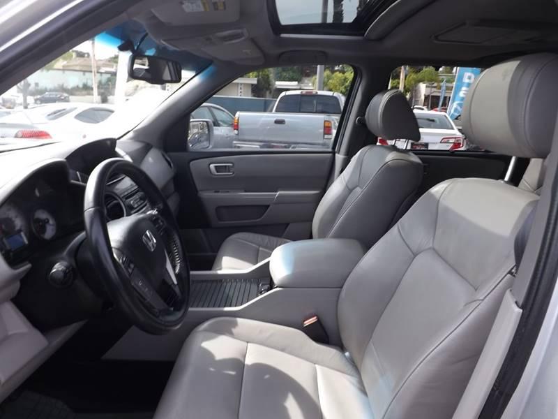 2012 Honda Pilot for sale at Speed Auto Gallery in La Mesa CA