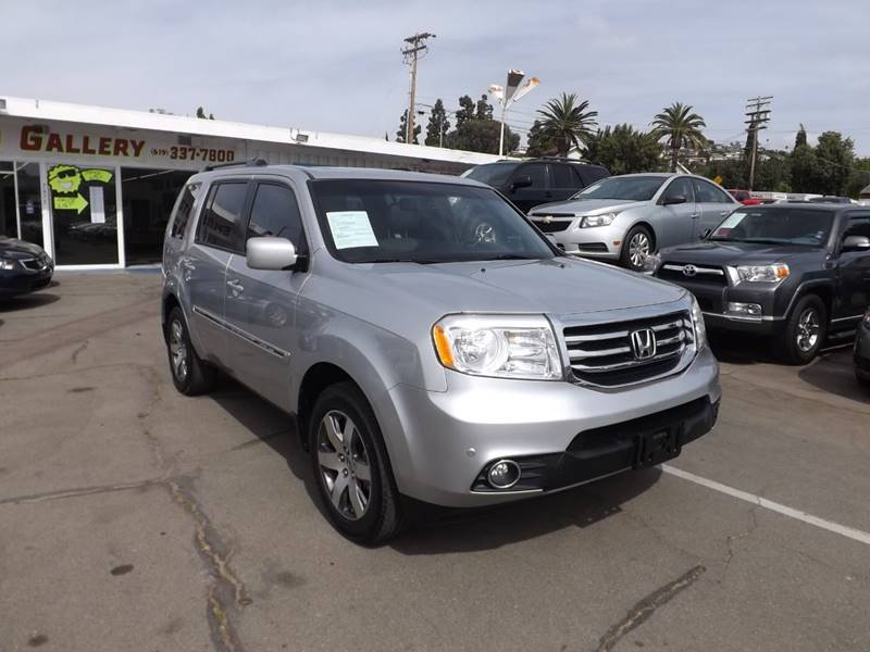 2012 Honda Pilot for sale at Speed Auto Gallery in La Mesa CA
