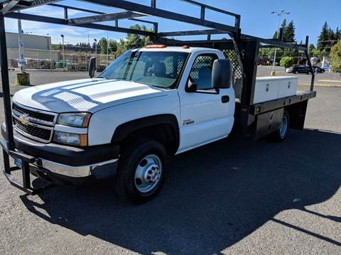 2007 Chevrolet Silverado 3500HD CC for sale at Teddy Bear Auto Sales Inc in Portland OR