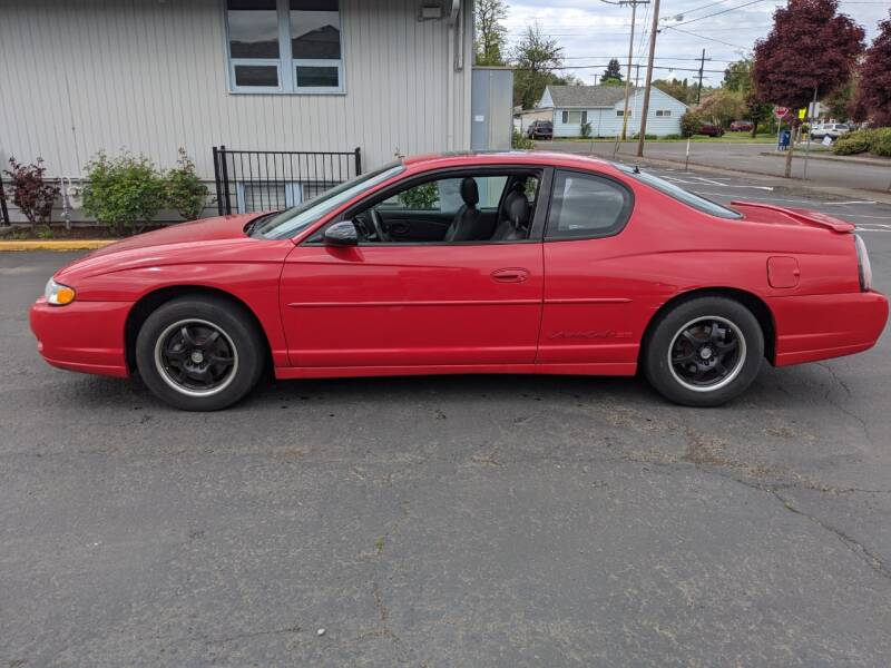 2003 Chevrolet Monte Carlo SS 2dr Coupe - Portland OR