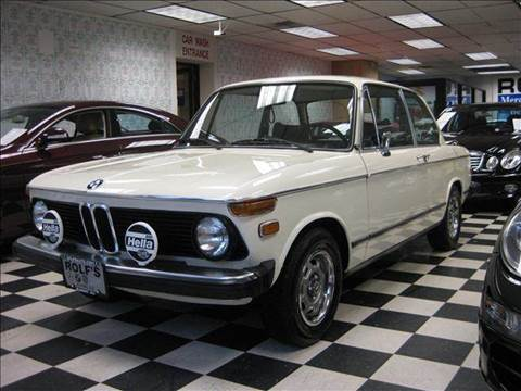 1976 BMW 2002 for sale at Rolfs Auto Sales in Summit NJ