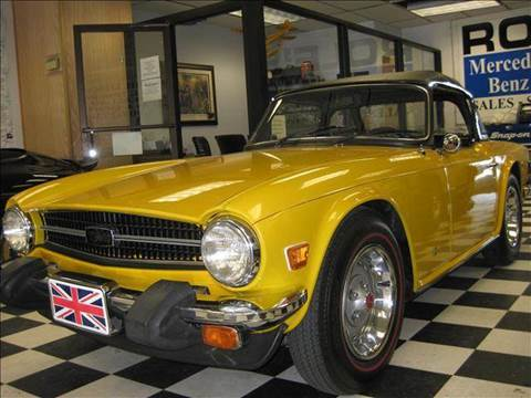 1976 Triumph TR6 for sale at Rolfs Auto Sales in Summit NJ