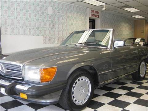 1988 Mercedes-Benz 560-Class for sale at Rolfs Auto Sales in Summit NJ