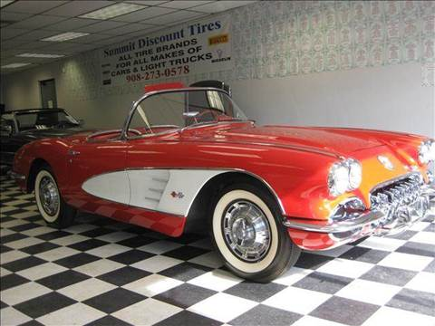 1959 Chevrolet Corvette for sale at Rolfs Auto Sales in Summit NJ