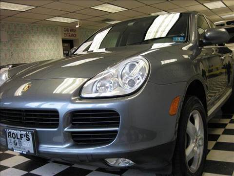 2004 Porsche Cayenne for sale at Rolfs Auto Sales in Summit NJ