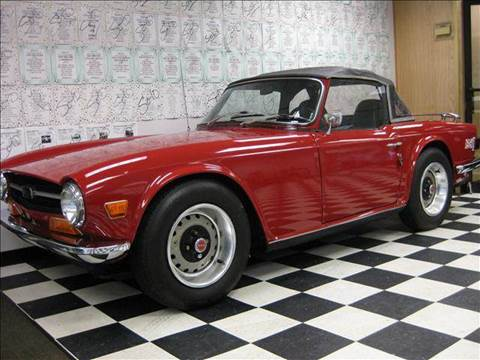 1969 Triumph TR6 for sale at Rolfs Auto Sales in Summit NJ