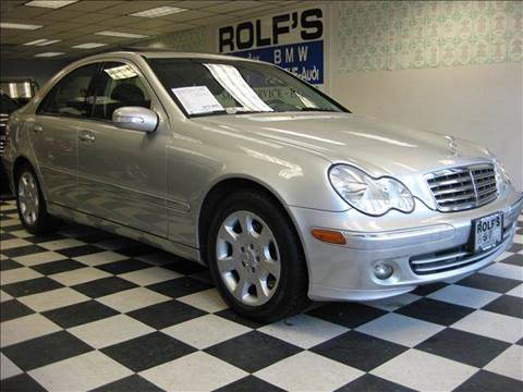 2005 Mercedes-Benz C-Class for sale at Rolfs Auto Sales in Summit NJ