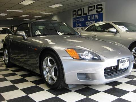 2000 Honda S2000 for sale at Rolfs Auto Sales in Summit NJ