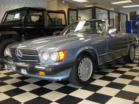 1987 Mercedes-Benz SL-Class for sale at Rolfs Auto Sales in Summit NJ