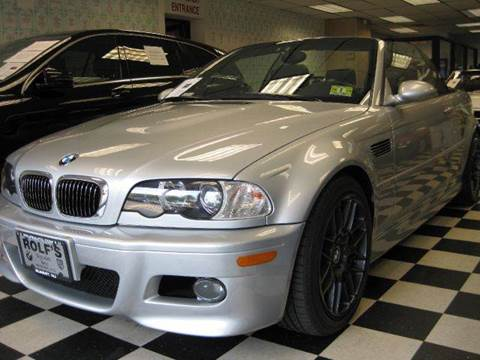 2002 BMW M3 for sale at Rolfs Auto Sales in Summit NJ