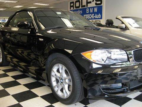 2008 BMW 1 Series for sale at Rolfs Auto Sales in Summit NJ
