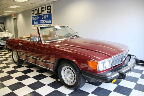 1981 Mercedes-Benz SL-Class for sale at Rolfs Auto Sales in Summit NJ