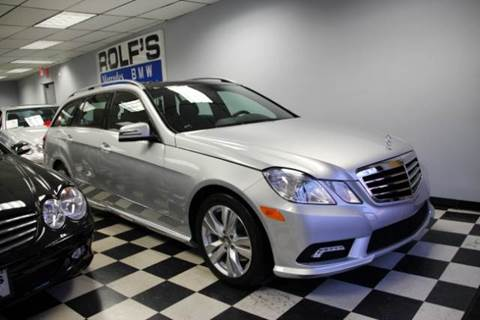 2011 Mercedes-Benz E-Class for sale at Rolfs Auto Sales in Summit NJ
