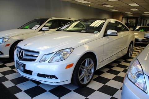 2010 Mercedes-Benz E-Class for sale at Rolfs Auto Sales in Summit NJ