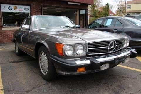 1986 Mercedes-Benz 560-Class for sale at Rolfs Auto Sales in Summit NJ