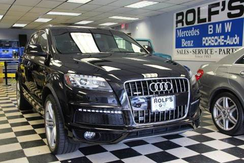 2012 Audi Q7 for sale at Rolfs Auto Sales in Summit NJ